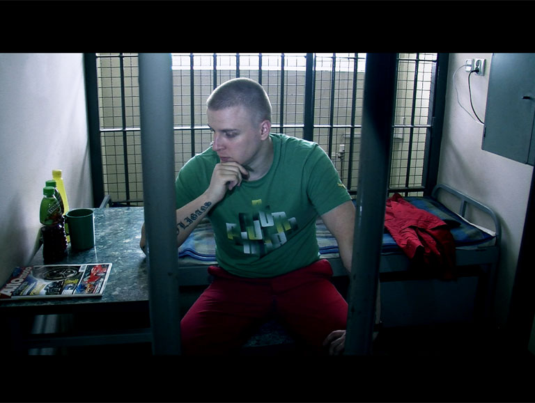 Bad Boy, High Security Cell by Janusz Mrozowski