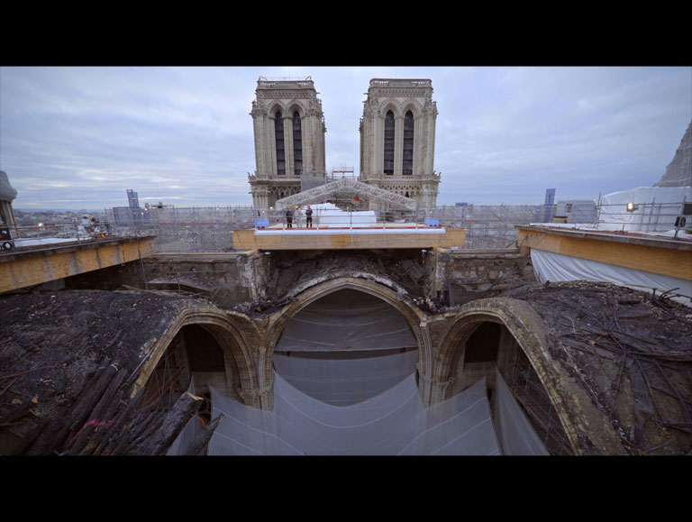Notre-Dame of Paris, rising from the ashes  by Laurent Fléchaire